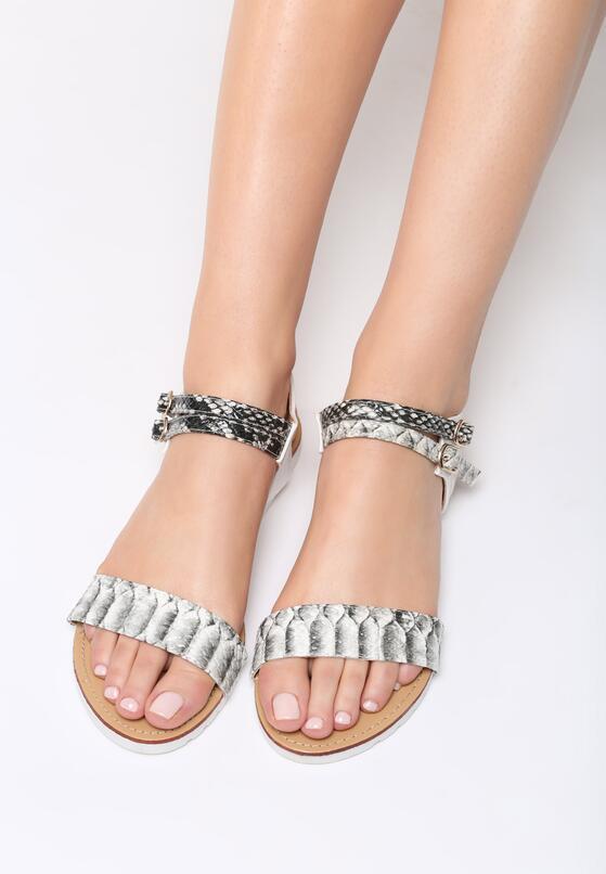 Białe Sandały Stephanie