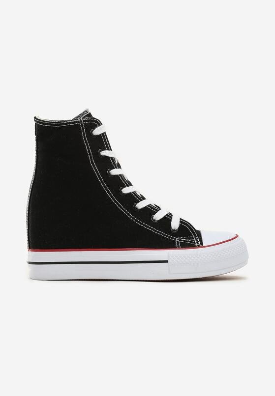 60% ZNIŻKI Czarne Sneakersy Bjorn Wiosna, Lato, Jesień