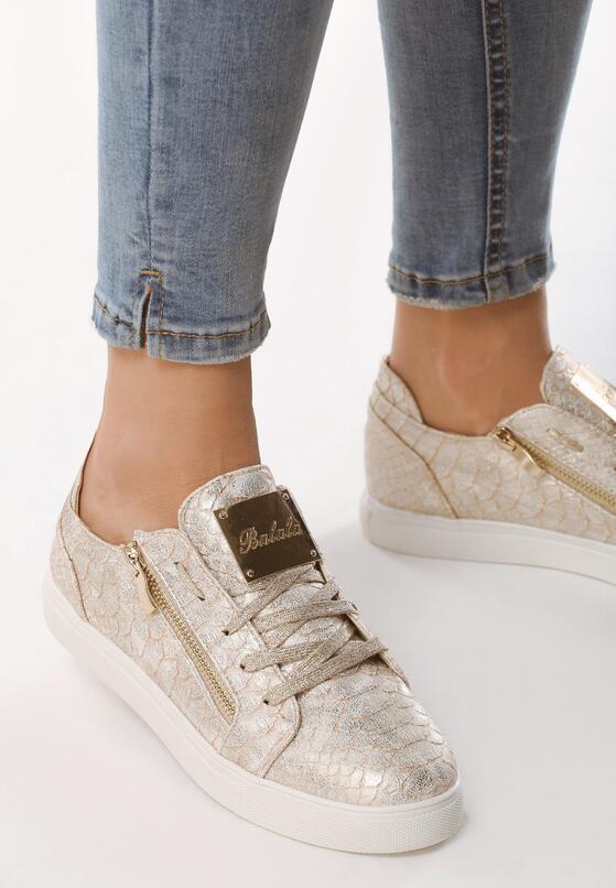 Złote Buty Sportowe Corking