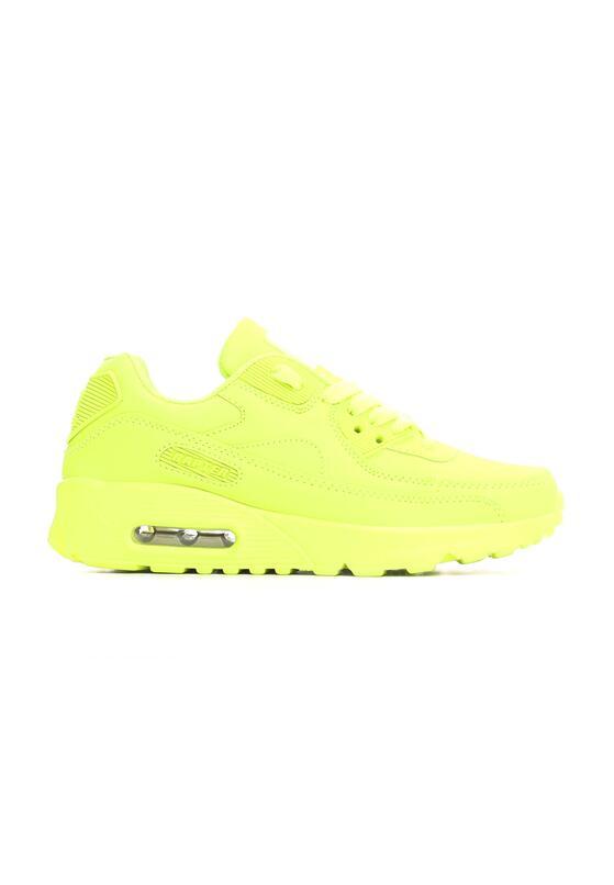 Limonkowe Neonowe Buty Sportowe Classic Nilda