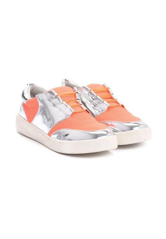 Pomarańczowe Buty Sportowe Glen