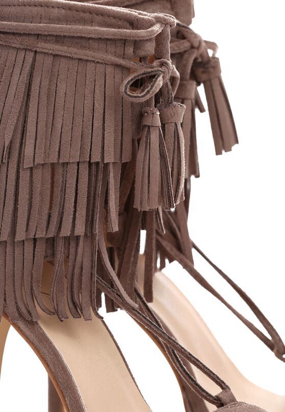 Khaki Sandały Nair