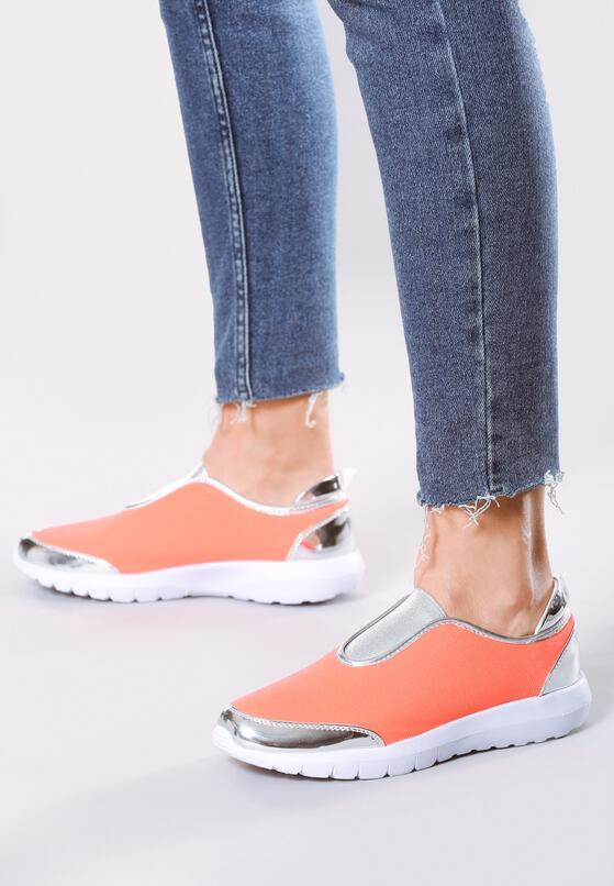 Pomarańczowe Buty Sportowe Siggy