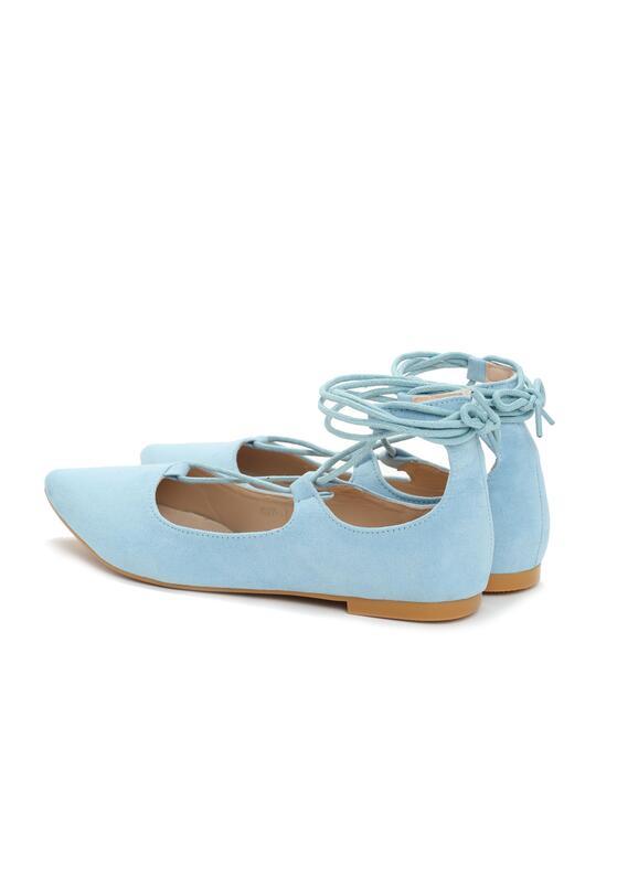 Niebieskie Balerinki Gabriel