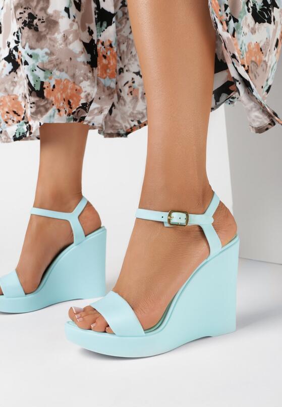 Niebieskie Sandały Hyppolite
