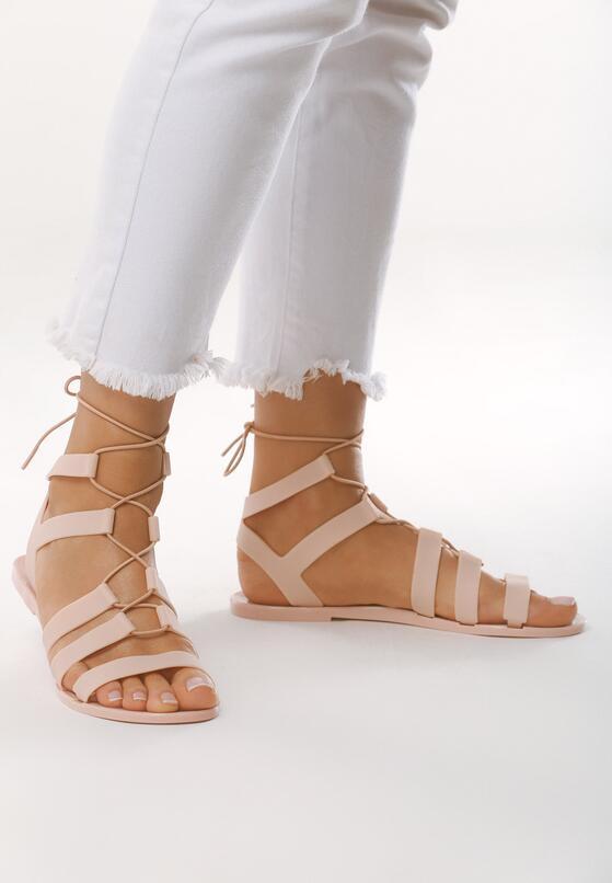 Beżowe Sandały Rosies