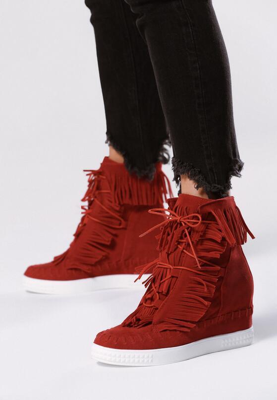 Czerwone Sneakersy Ginny