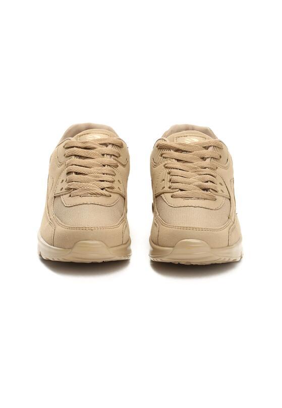 Beżowe Buty Sportowe Vintage Nilda