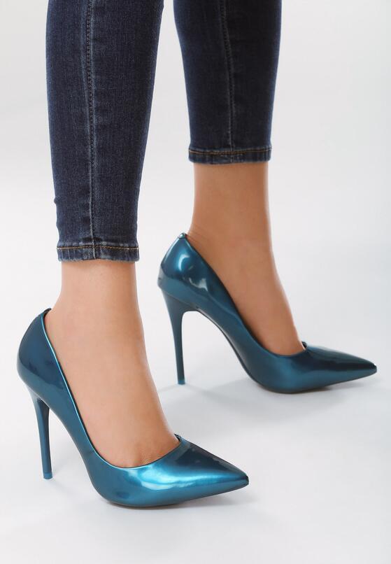 Niebieskie Szpilki Miranda