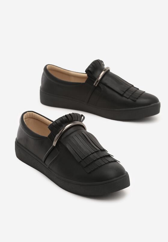 Czarne Slip On Jyn