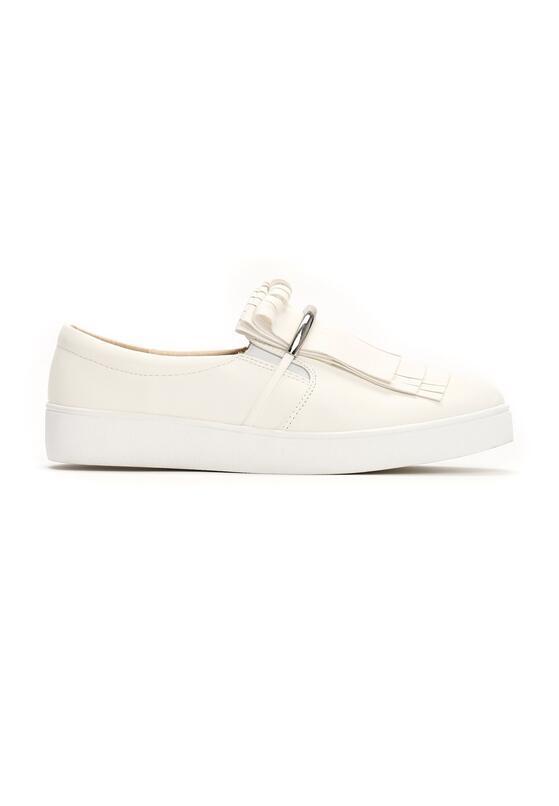 Białe Slip On Jyn