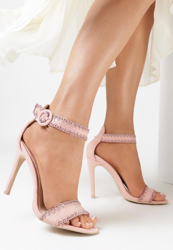 Różowe Sandały Holy Grail