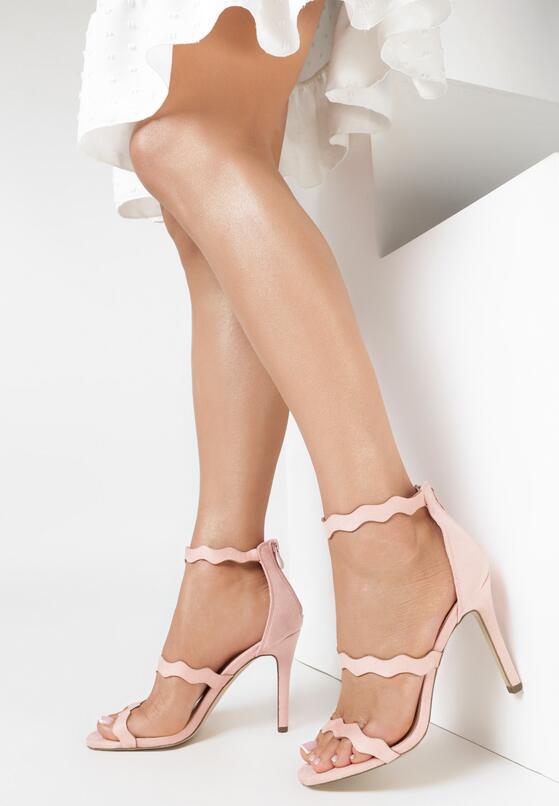 Różowe Sandały Skyways
