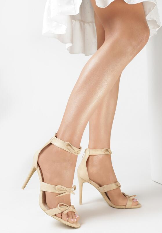 Beżowe Sandały Lumos