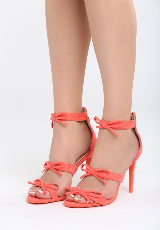 Pomarańczowe Sandały Lumos