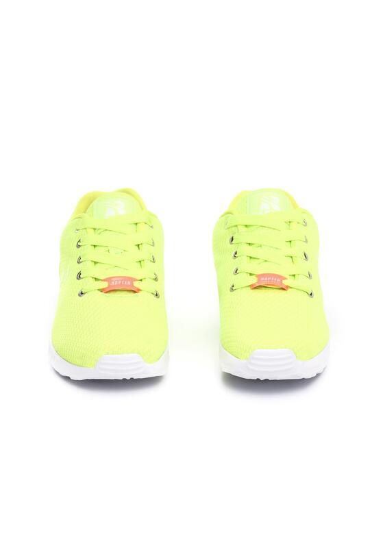 Limonkowy Neonowe Buty Sportowe Kagill