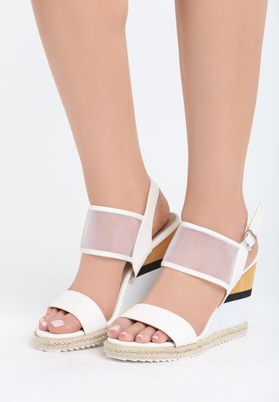 Białe Sandały Little Miss