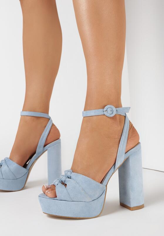 Niebieskie Sandały Fallon