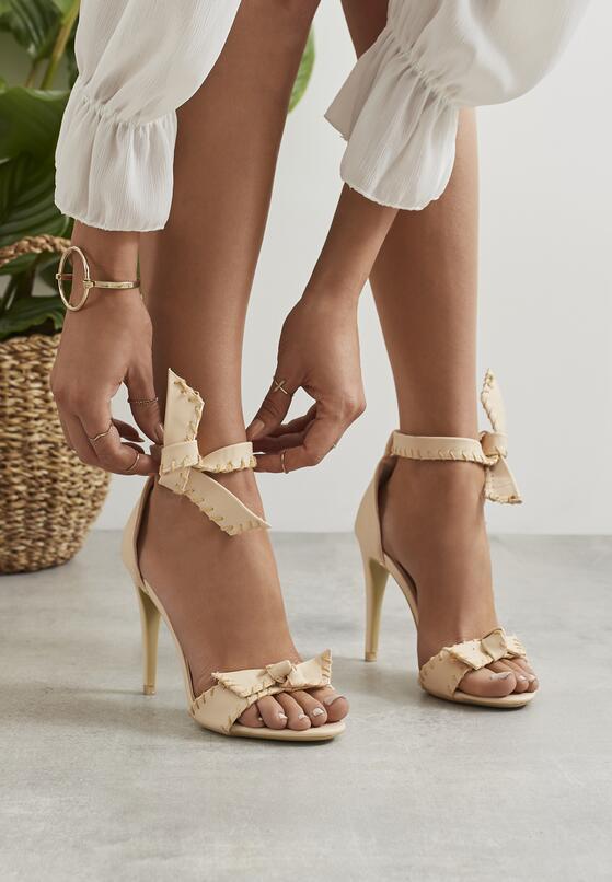 Beżowe Sandały Mercy