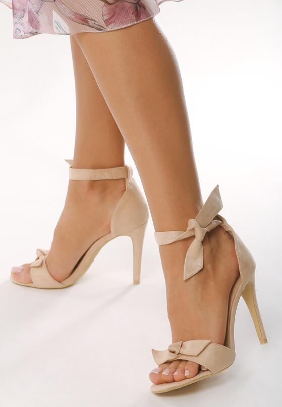 Beżowe Sandały Lietta