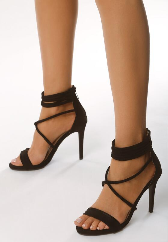 Czarne Sandały Miss Independent