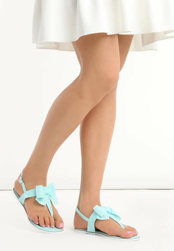 Niebieskie Sandały Impossible Dream