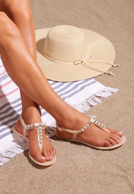Beżowe Sandały Roundup