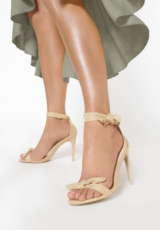 Beżowe Sandały Staple