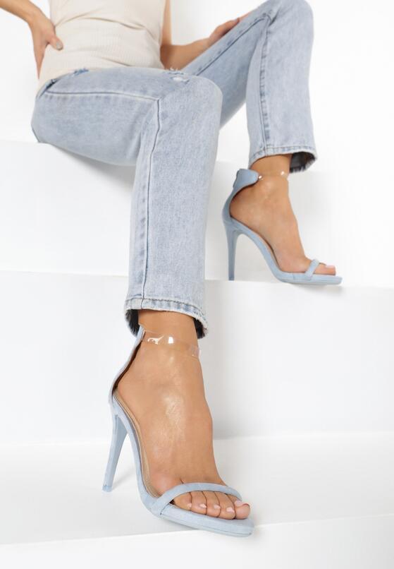 Niebieskie Sandały Private Emotion