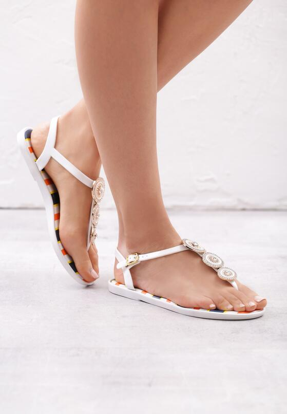 Białe Sandały Sweet Creature
