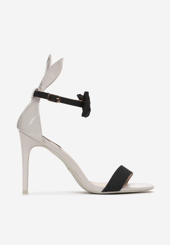 Szare Sandały Rabbit