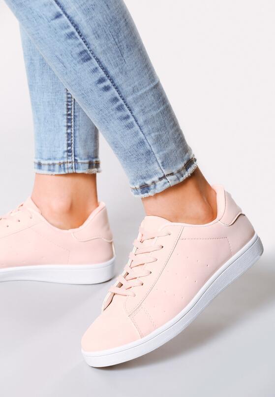 Różowe Buty Sportowe Relaxation
