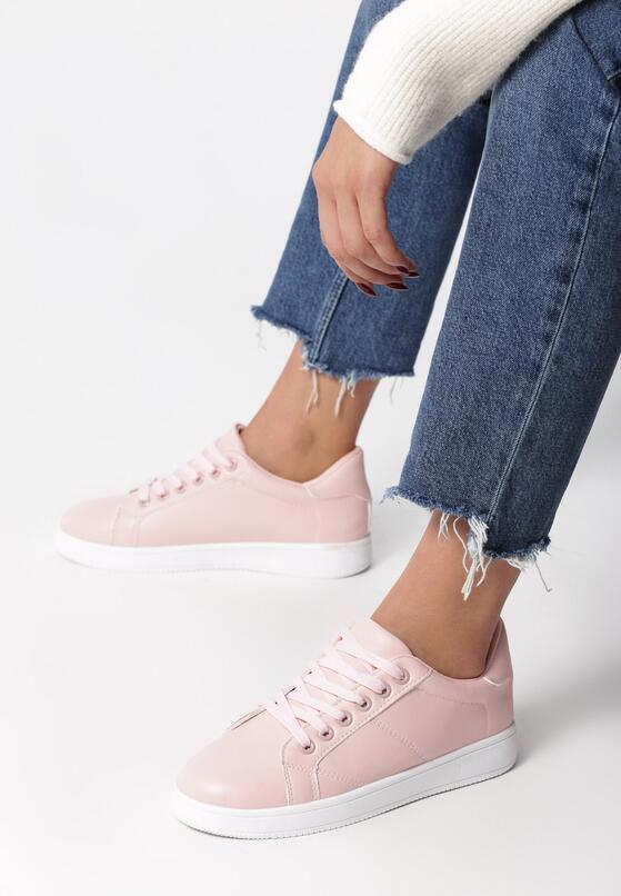 Różowe Buty Sportowe Slipcover