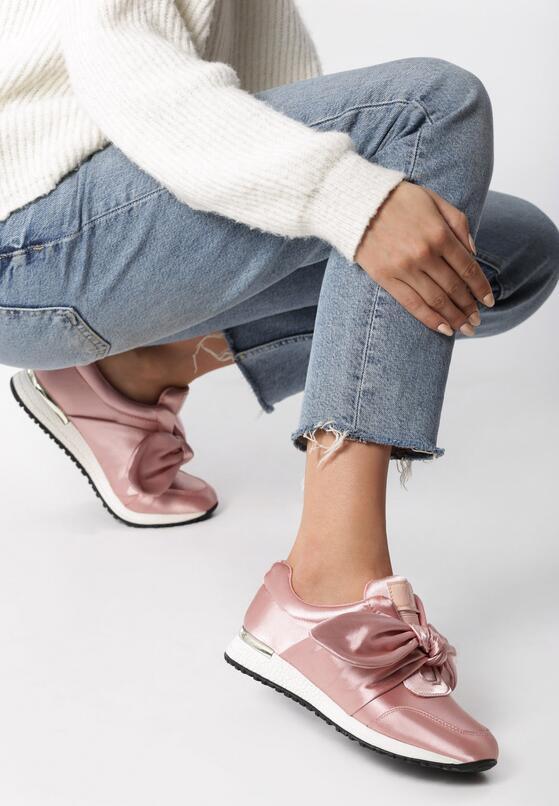 Różowe Sneakersy Runaway
