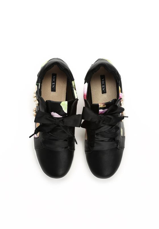 Czarne Buty Sportowe Burble