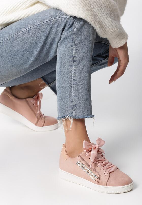 Różowe Buty Sportowe Margaric