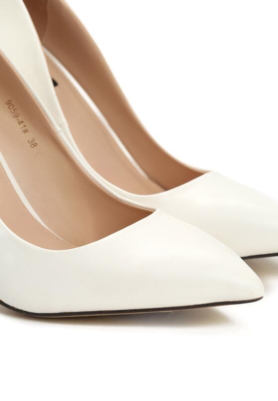 Białe Szpilki Modern Lady