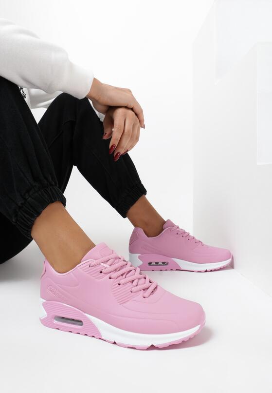 Różowe Buty Sportowe Cold Nights