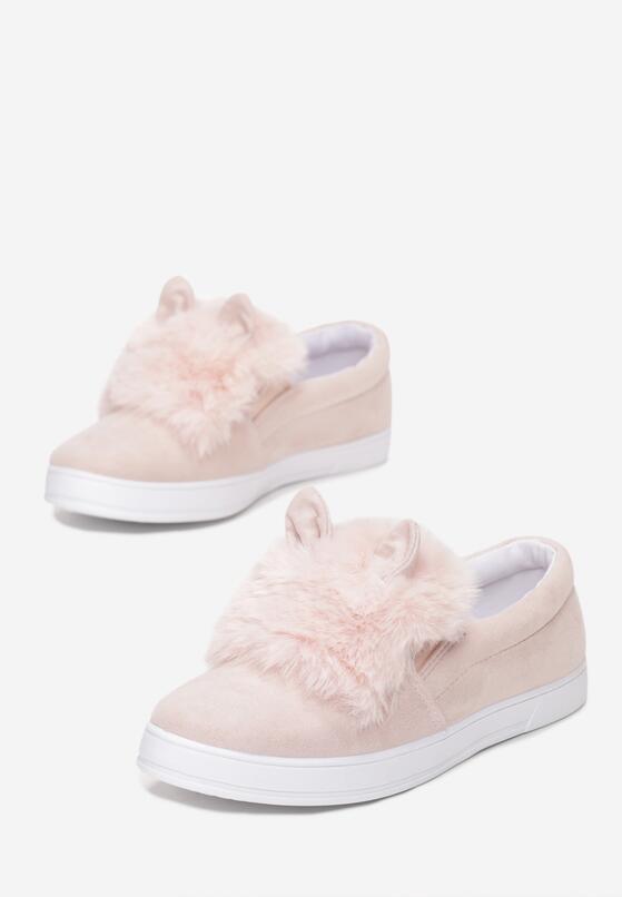 Różowe Slip On Cooperative Plush