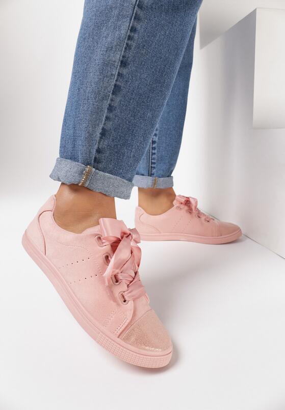 Różowe Trampki Pumplike