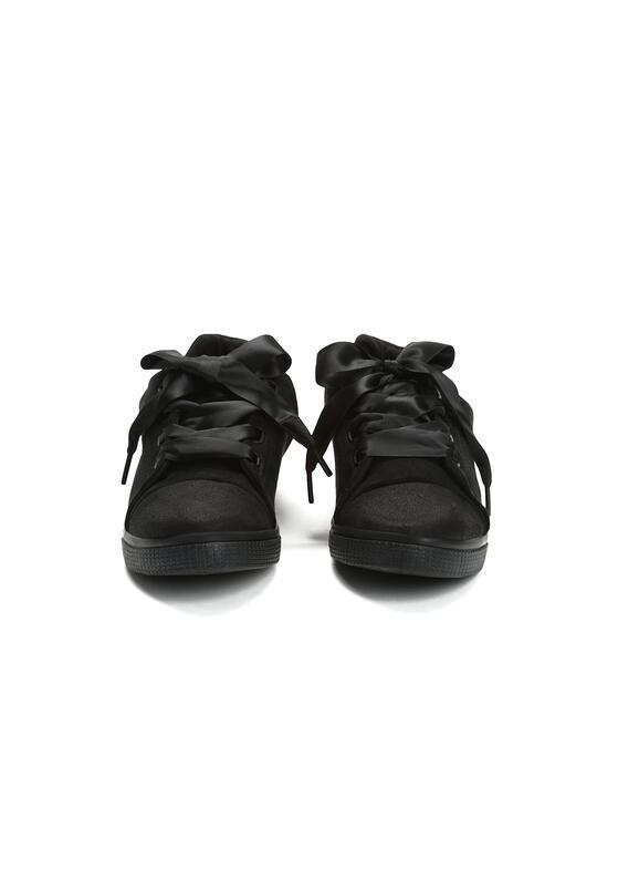 Czarne Trampki Pumplike