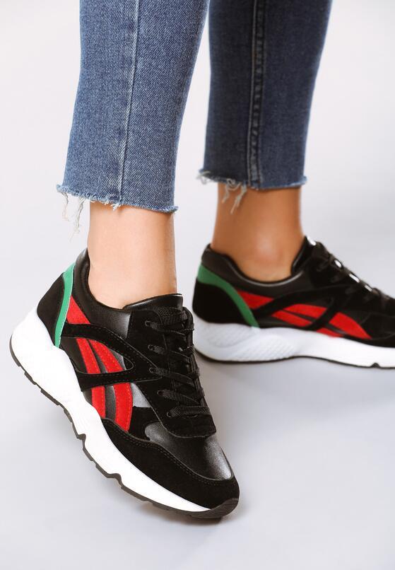 Czarne Buty Sportowe Firmament