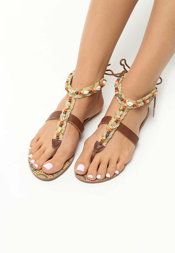 Brązowe Sandały Affectionate