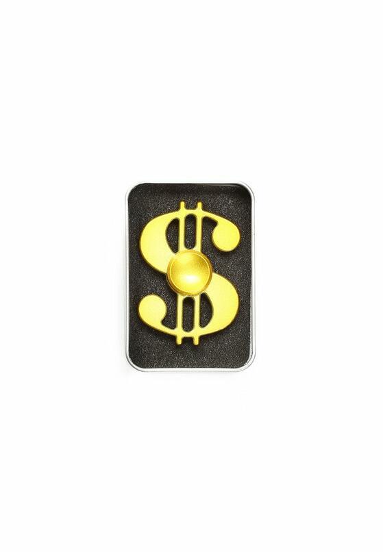 Złoty Fidget Spinner Dollar