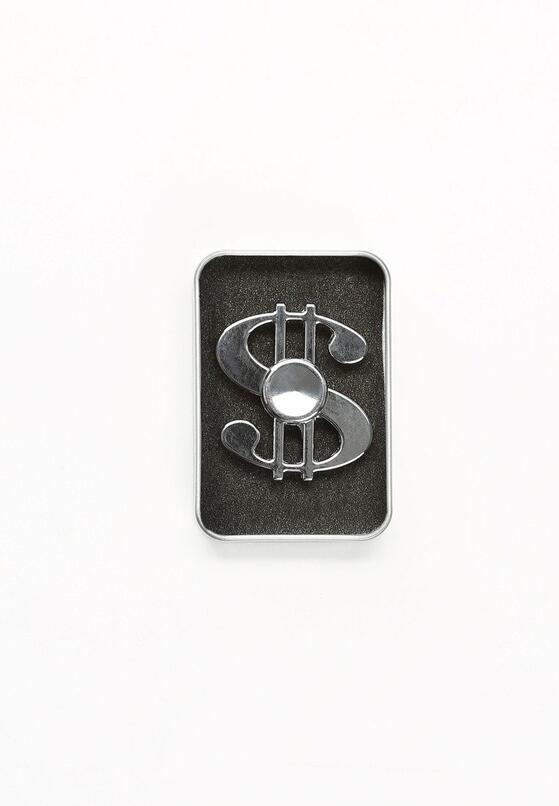 Srebrny Fidget Spinner G.A.M.E