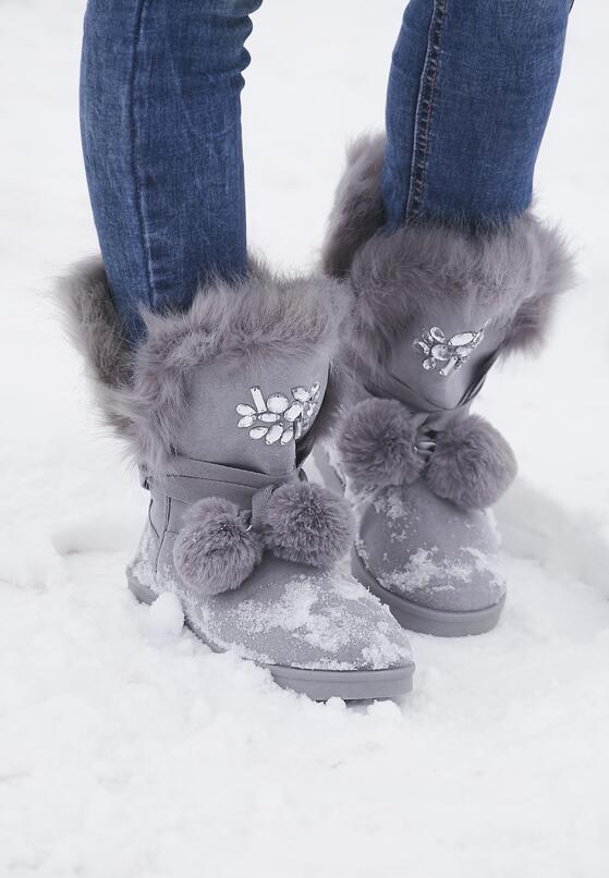 Szare Śniegowce Ice Queen