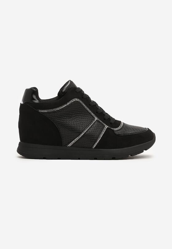 Czarne Sneakersy Hype