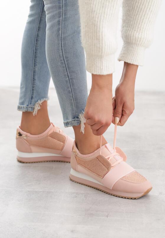 Różowe Buty Sportowe I'll Rise
