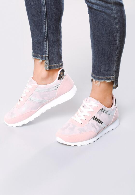 Różowe Buty Sportowe Good Times