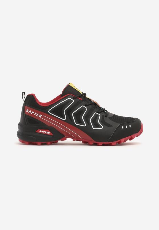 Czarno-Czerwone Buty Sportowe New Beginnings
